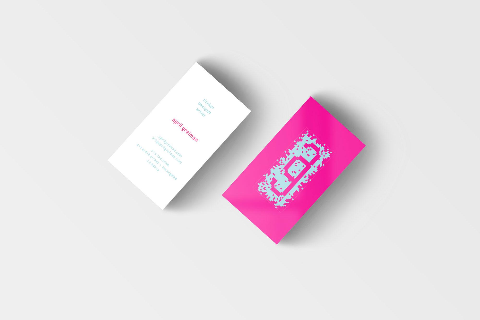 Alex hammarskjold monogram and business card created for april greiman magicingreecefo Images